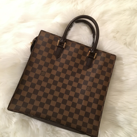befd462bc711 Louis Vuitton Handbags - Louis Vuitton Damier Ebene Sac Plat Briefcase